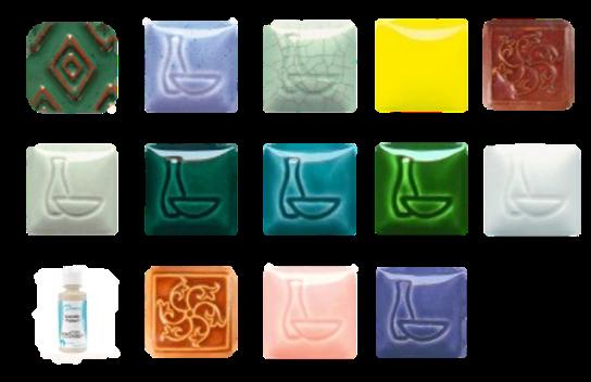 glaze palette