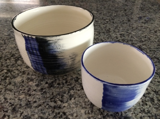 Flower Pots - first thing I made at Creative Claythings