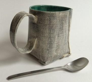 gray slab cup
