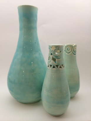 Sample of the wedding vases