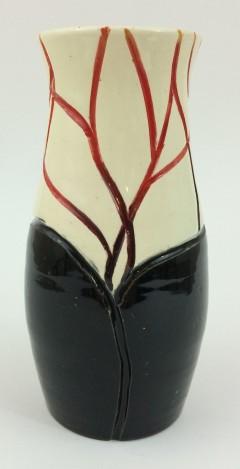 Black & Clear Vase