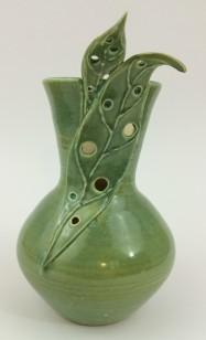 Leafy Vase