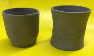 stamped cups 1