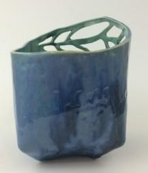 large slab flower pot