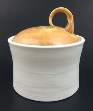 yellow top jar