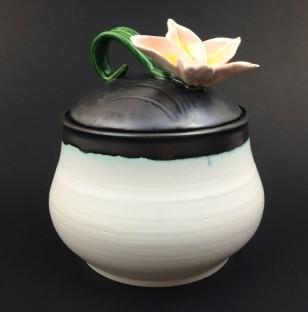 Flower Lid Jar