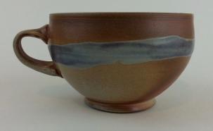 cappuccino mug with stripe 2
