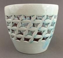 carved waste basket pot 2