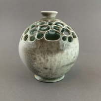 carved round vase 2
